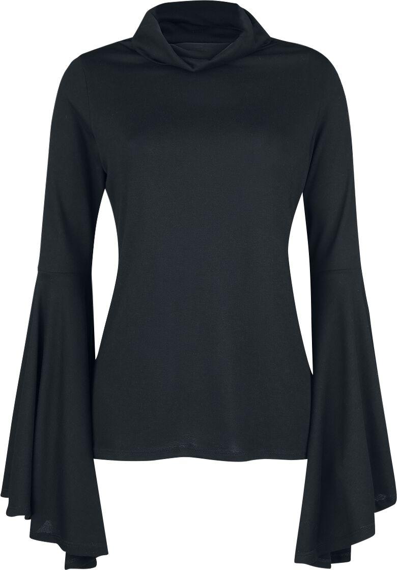 Image of   Outer Vision Valverde Girlie sweatshirt sort