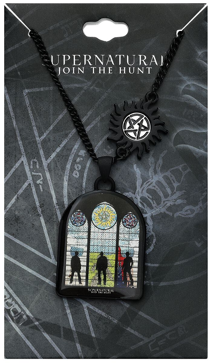 Image of   Supernatural Winchester Bros Halskæde sort