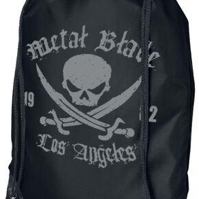 Metal Blade Pirate Logo Sac de Gym noir