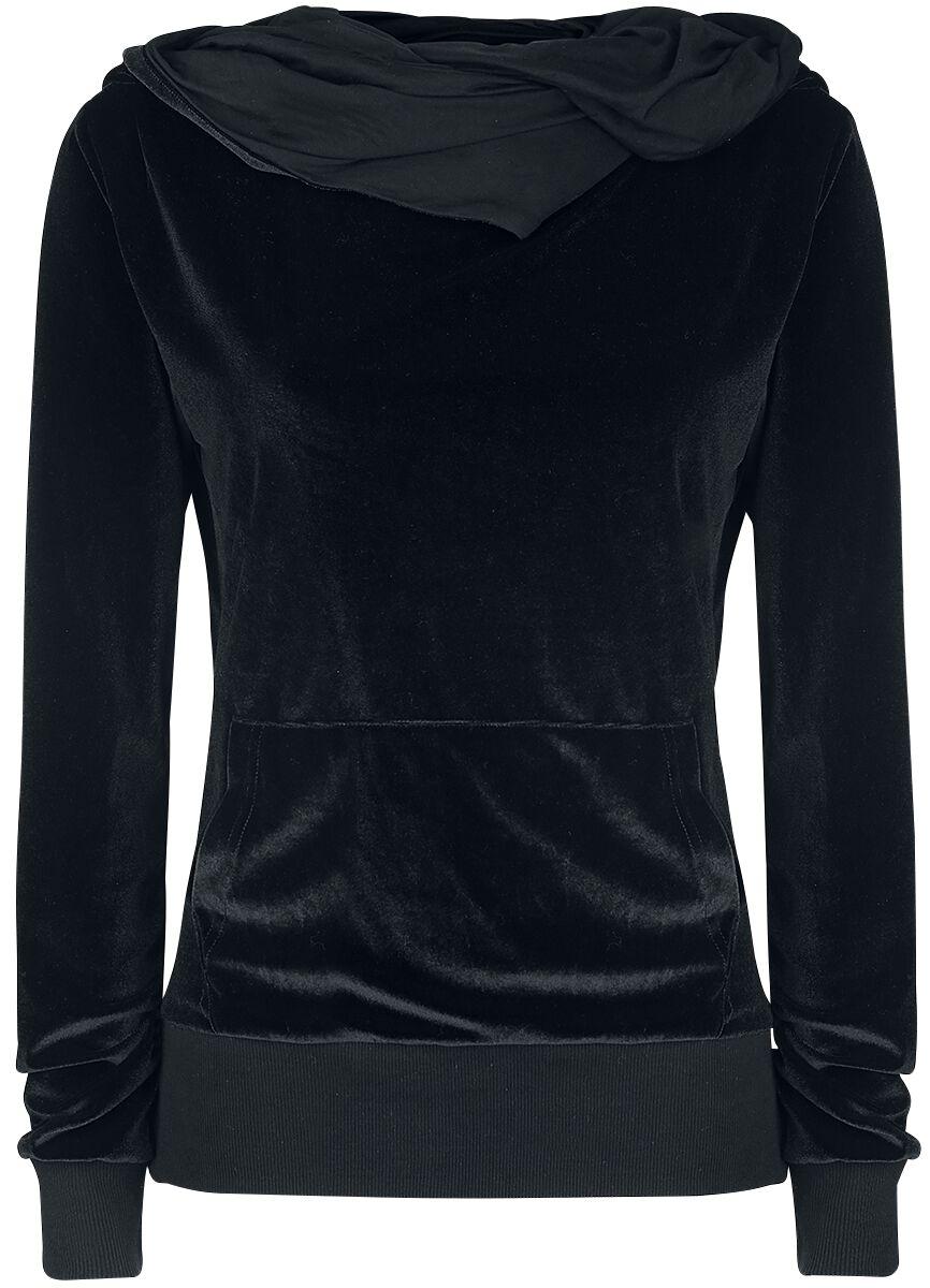 Image of   Fashion Victim Nicki Pullover Girlie hættetrøje sort