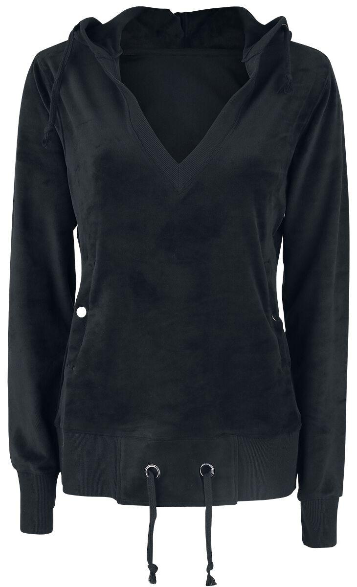 Marki - Bluzy z kapturem - Bluza z kapturem damska Fashion Victim Nicki Pullover Bluza z kapturem damska czarny - 365987