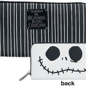L'Étrange Noël De Monsieur Jack Jack Skelington Portefeuille noir/blanc