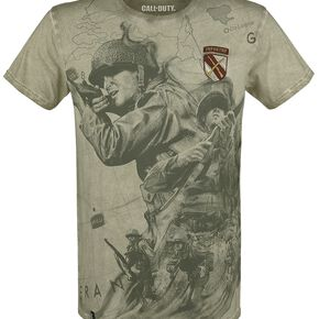 Call Of Duty WWII T-shirt olive