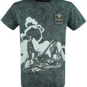 Call Of Duty WWII T-shirt vert/noir