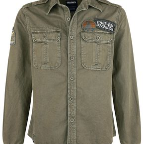 Call Of Duty WWII Chemise olive