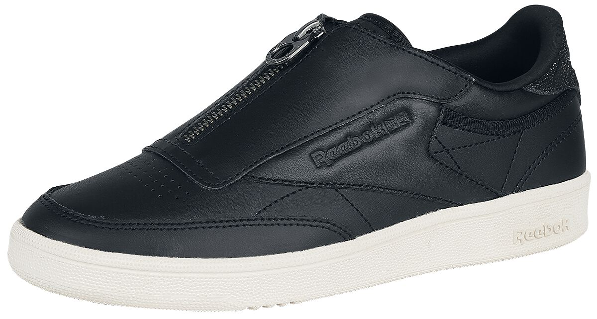 Image of   Reebok Club C 85 Zip M Sneakers sort-hvid