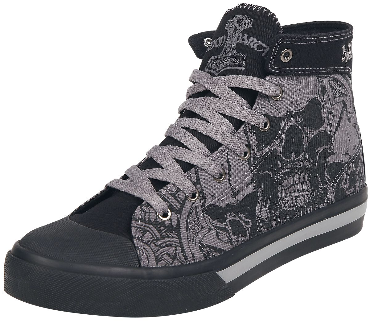 Image of   Amon Amarth EMP Signature Collection Sneakers sort-grå