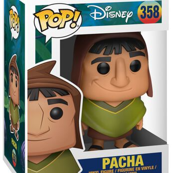 Figurine Pop! Pacha - Kuzco, l'Empereur Mégalo