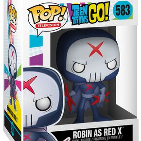 Figurine Pop! Robin en Red X (Masqué) - Teen Titans Go!