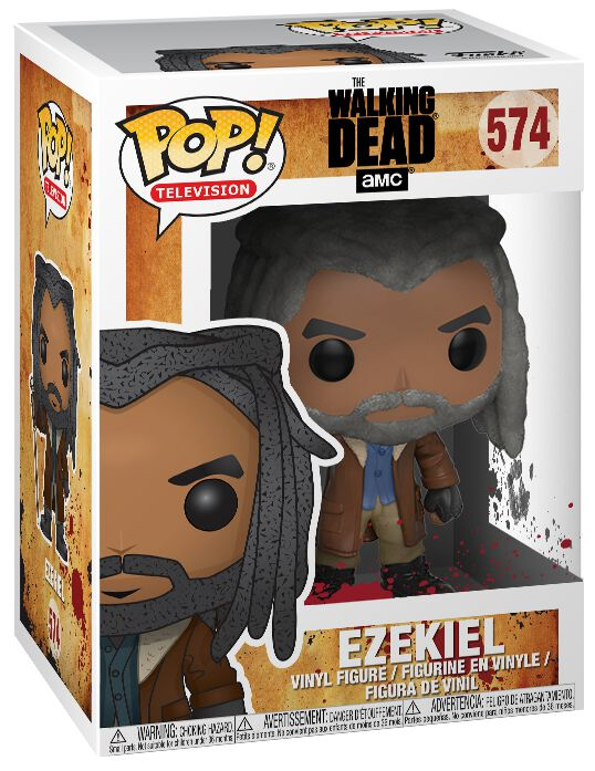 Image of   The Walking Dead Ezekiel Vinyl Figure 574 Samlefigur Standard