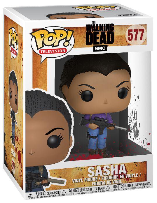 Image of   The Walking Dead Sasha Vinyl Figure 577 Samlefigur Standard