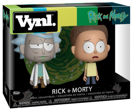 Image of   Rick And Morty Rick and Morty 2-Pack (VYNL) VYNL Standard
