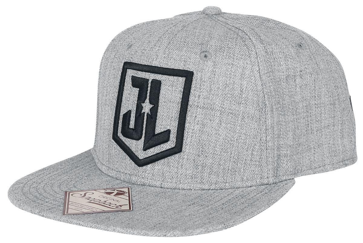 Image of   Justice League Logo Snapback Cap grå