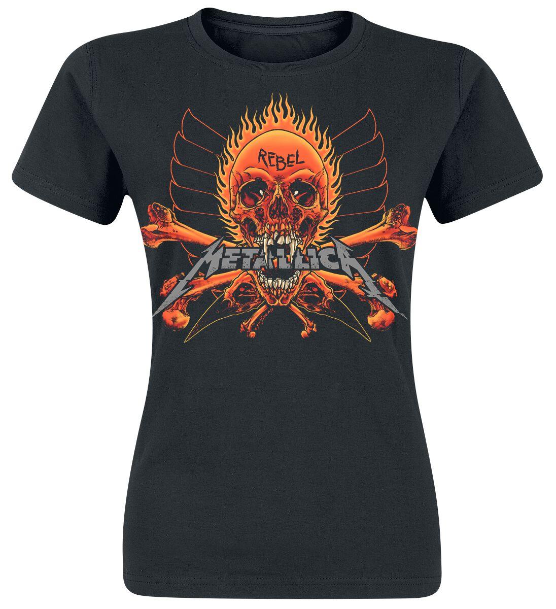 Metallica Rebel Stranger - Frauen - schwarz