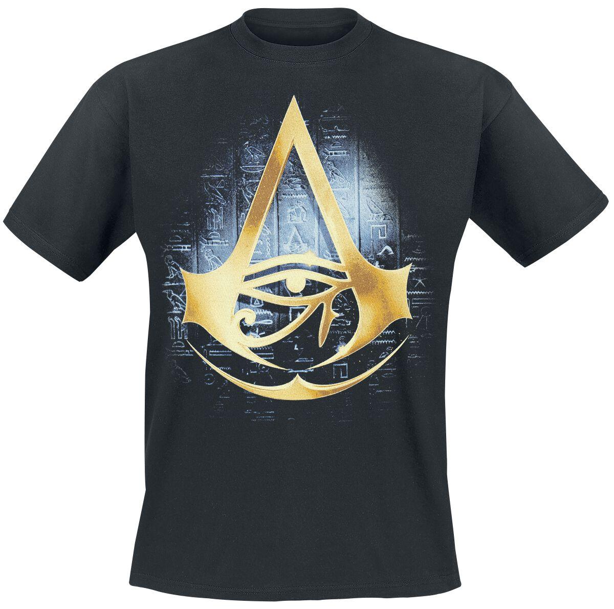 Image of   Assassin's Creed Origins - Hyroglyph T-Shirt sort