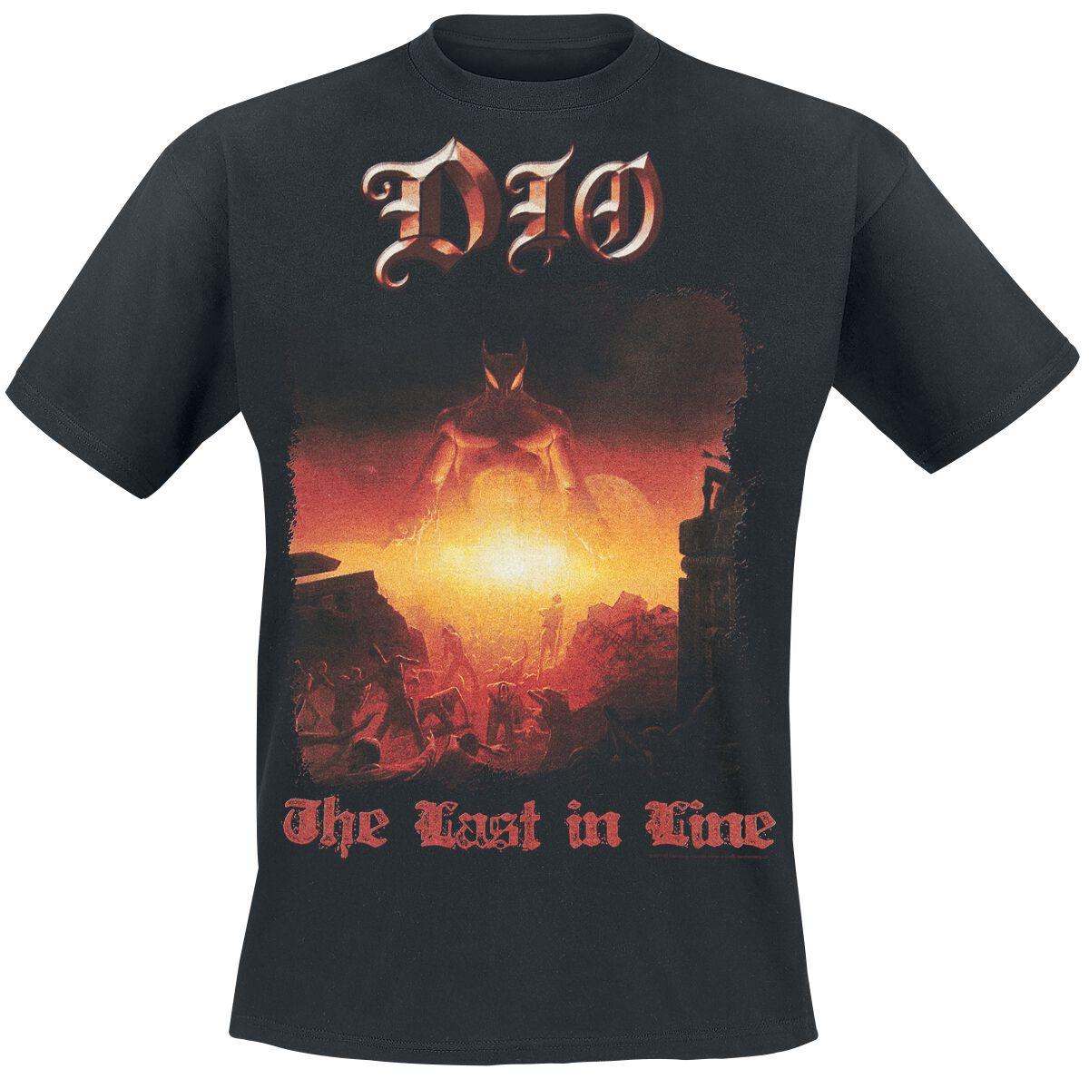 Zespoły - Koszulki - T-Shirt Dio Last In Line T-Shirt czarny - 366341