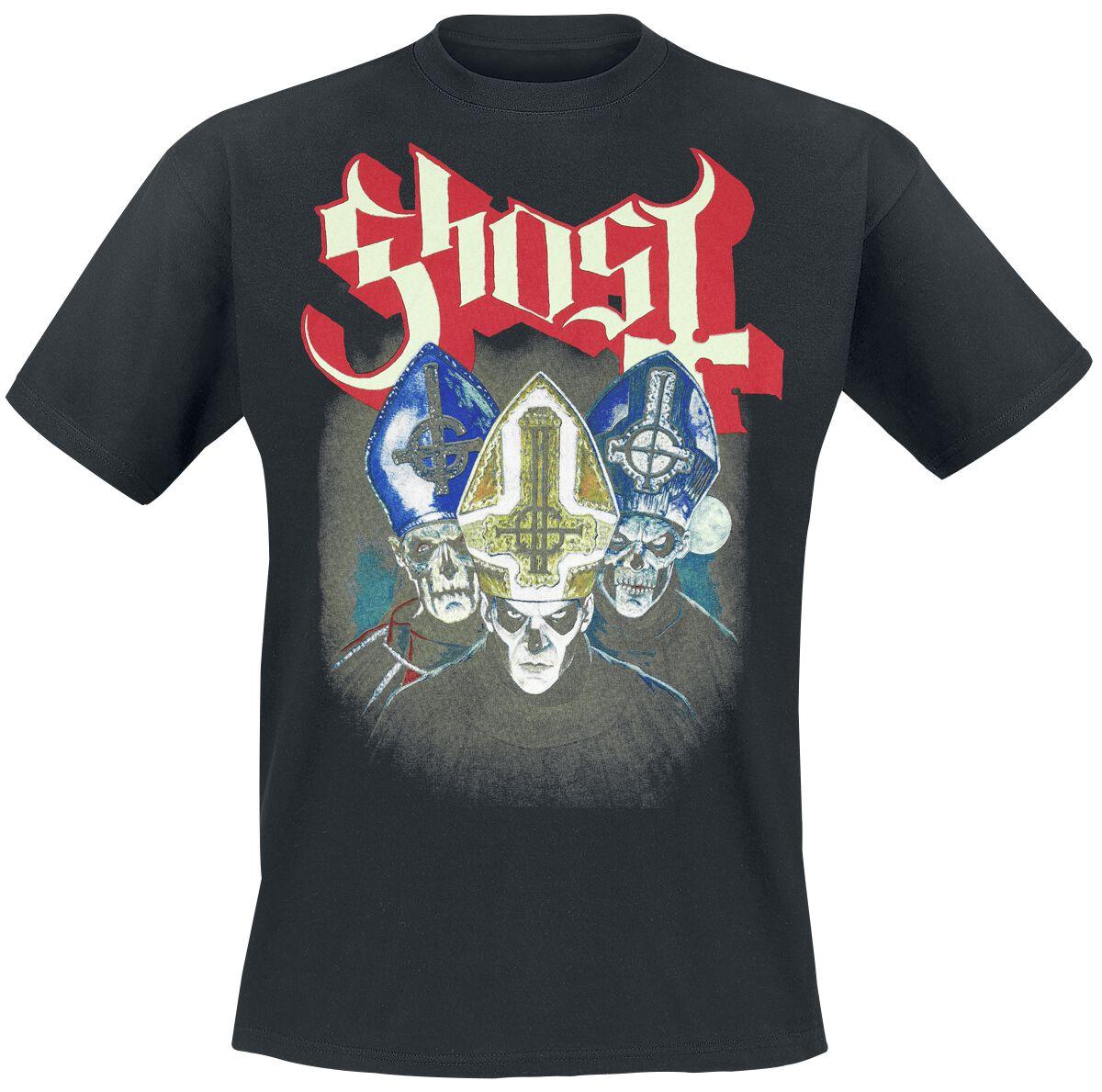 Zespoły - Koszulki - T-Shirt Ghost Trinity T-Shirt czarny - 366345