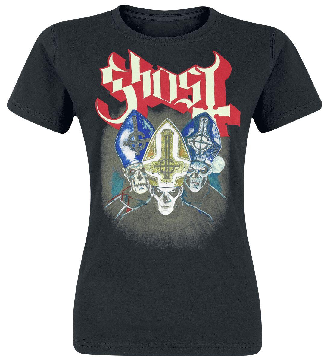 Zespoły - Koszulki - Koszulka damska Ghost Trinity Koszulka damska czarny - 366346