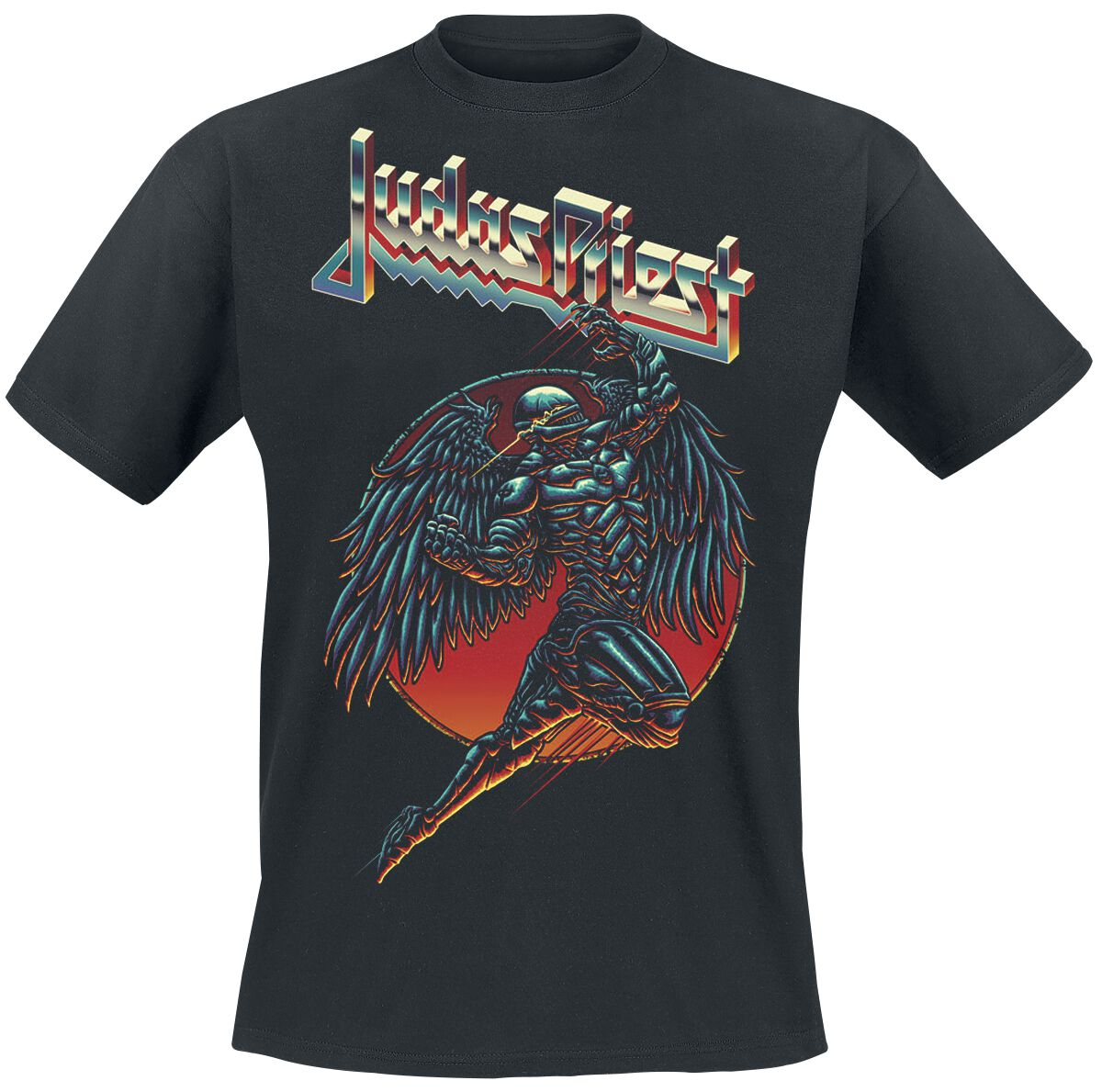 Image of   Judas Priest BTD Redeemer T-Shirt sort