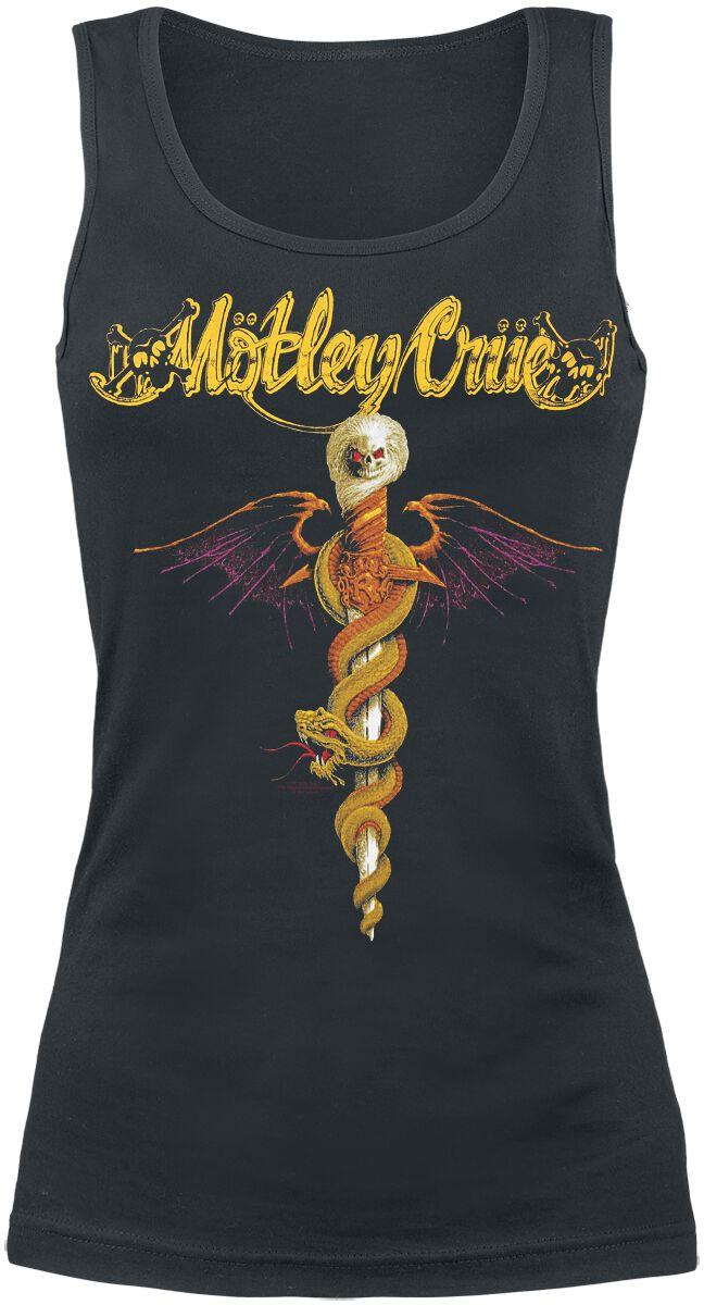 Zespoły - Topy - Top damski Mötley Crüe Dr. Feelgood Top damski czarny - 366377