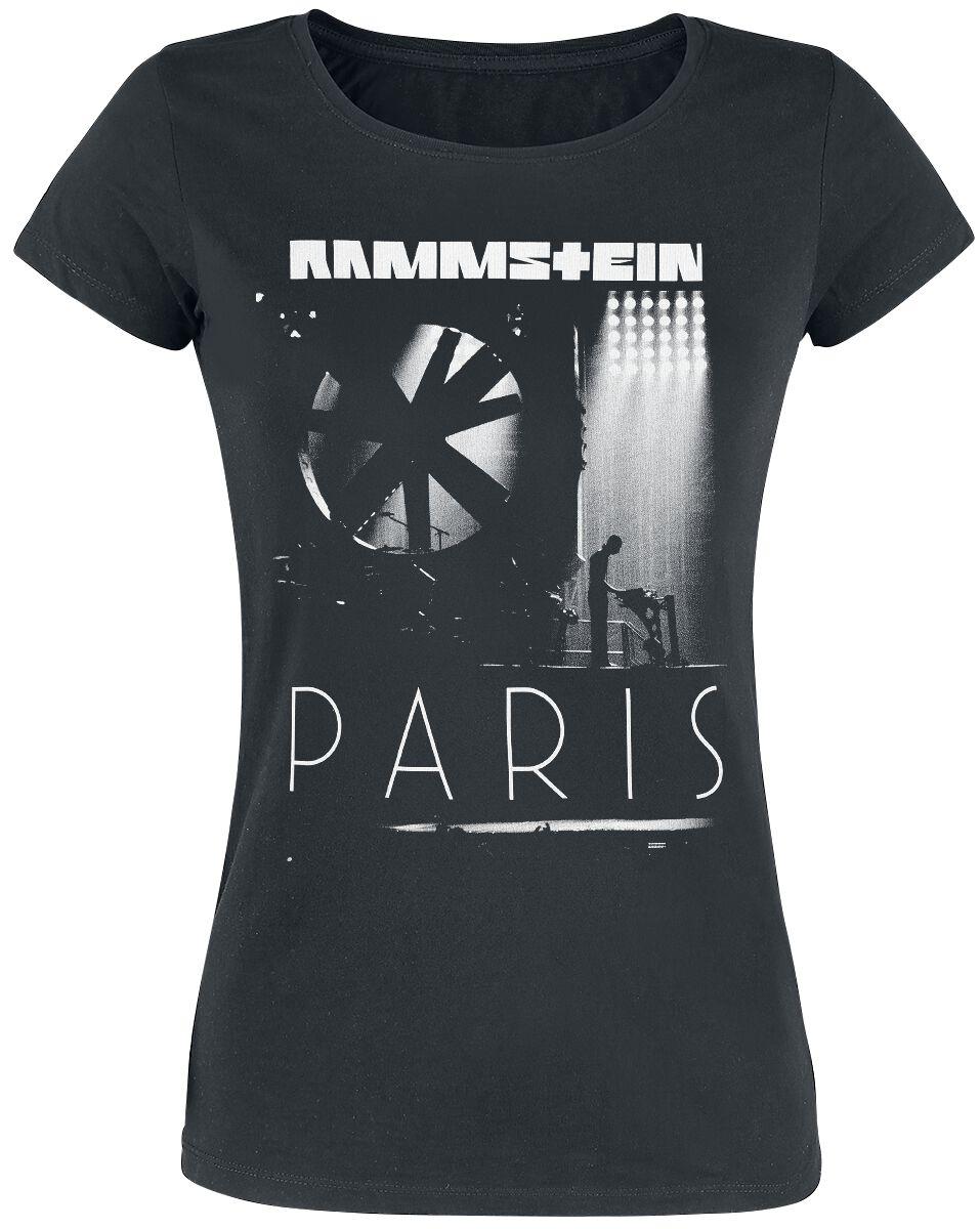 Image of   Rammstein Flake Paris Girlie trøje sort
