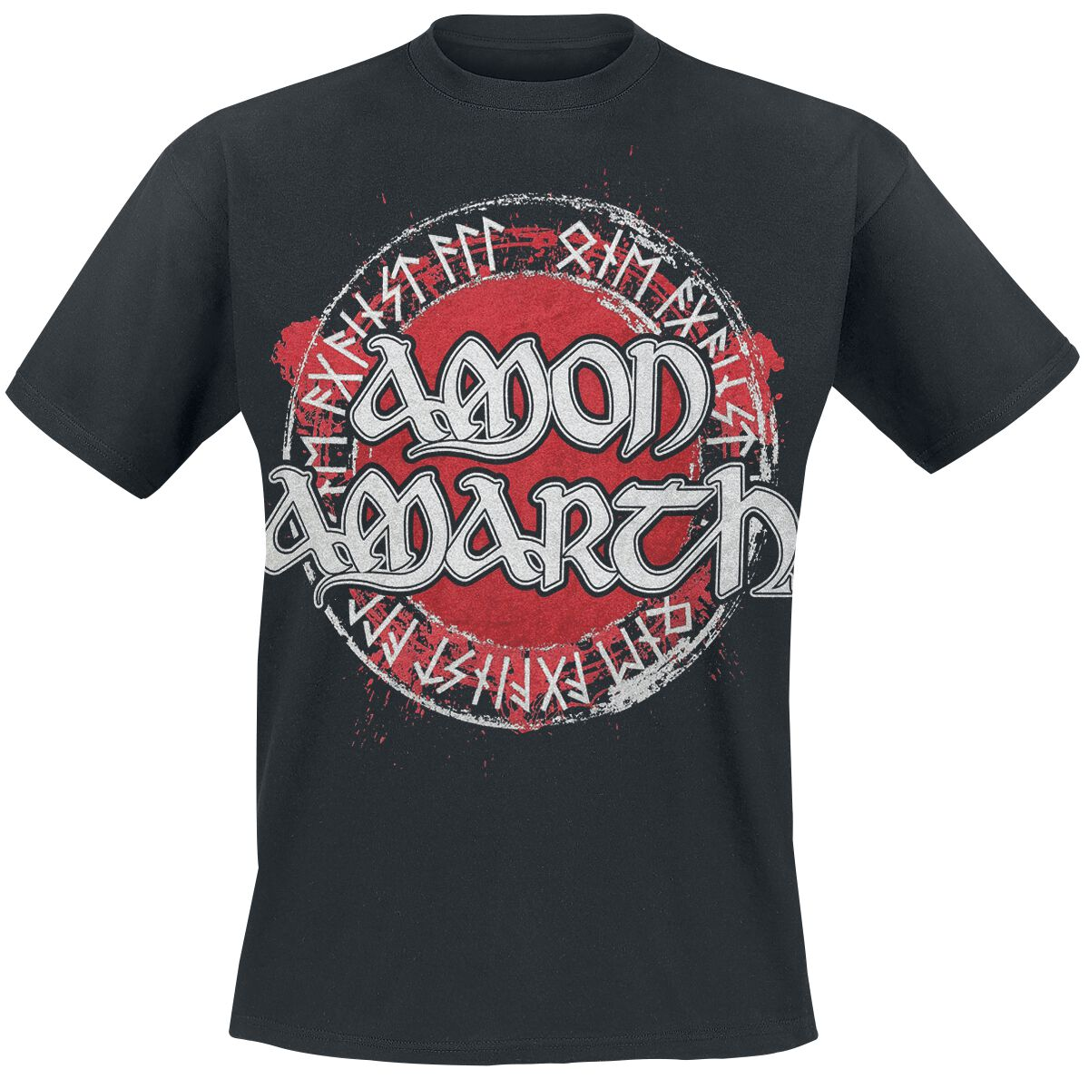 Image of   Amon Amarth One Against All T-Shirt sort