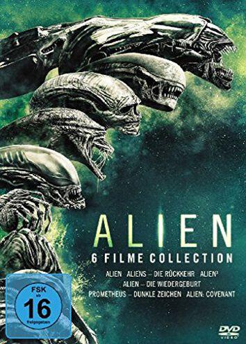 Image of Alien 6 Filme Kollektion 6-DVD Standard