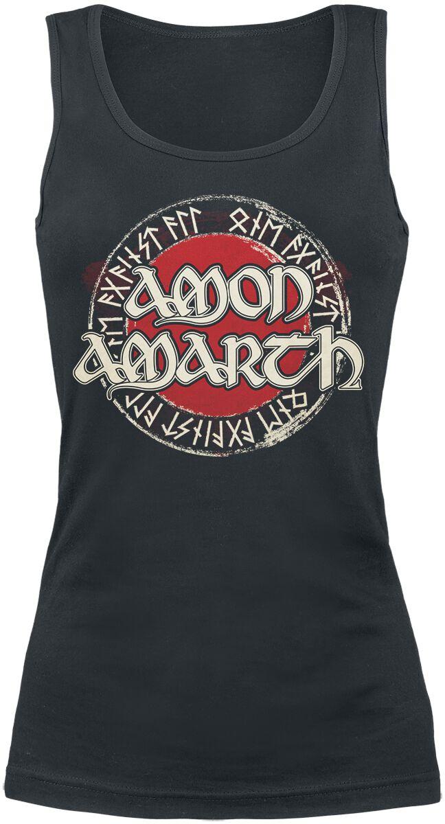 Image of   Amon Amarth One Against All Girlie top sort