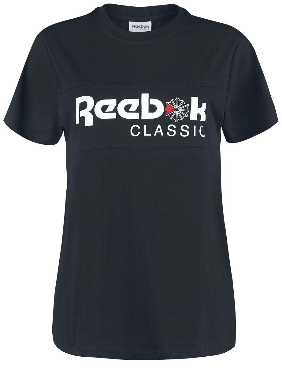 Image of   Reebok Classic Tee Girlie trøje sort