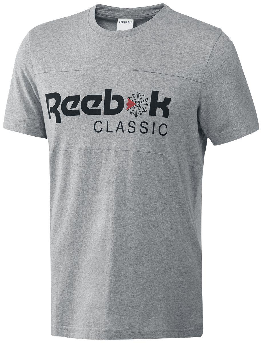 Image of   Reebok Franchise Iconic Tee T-Shirt lys grå