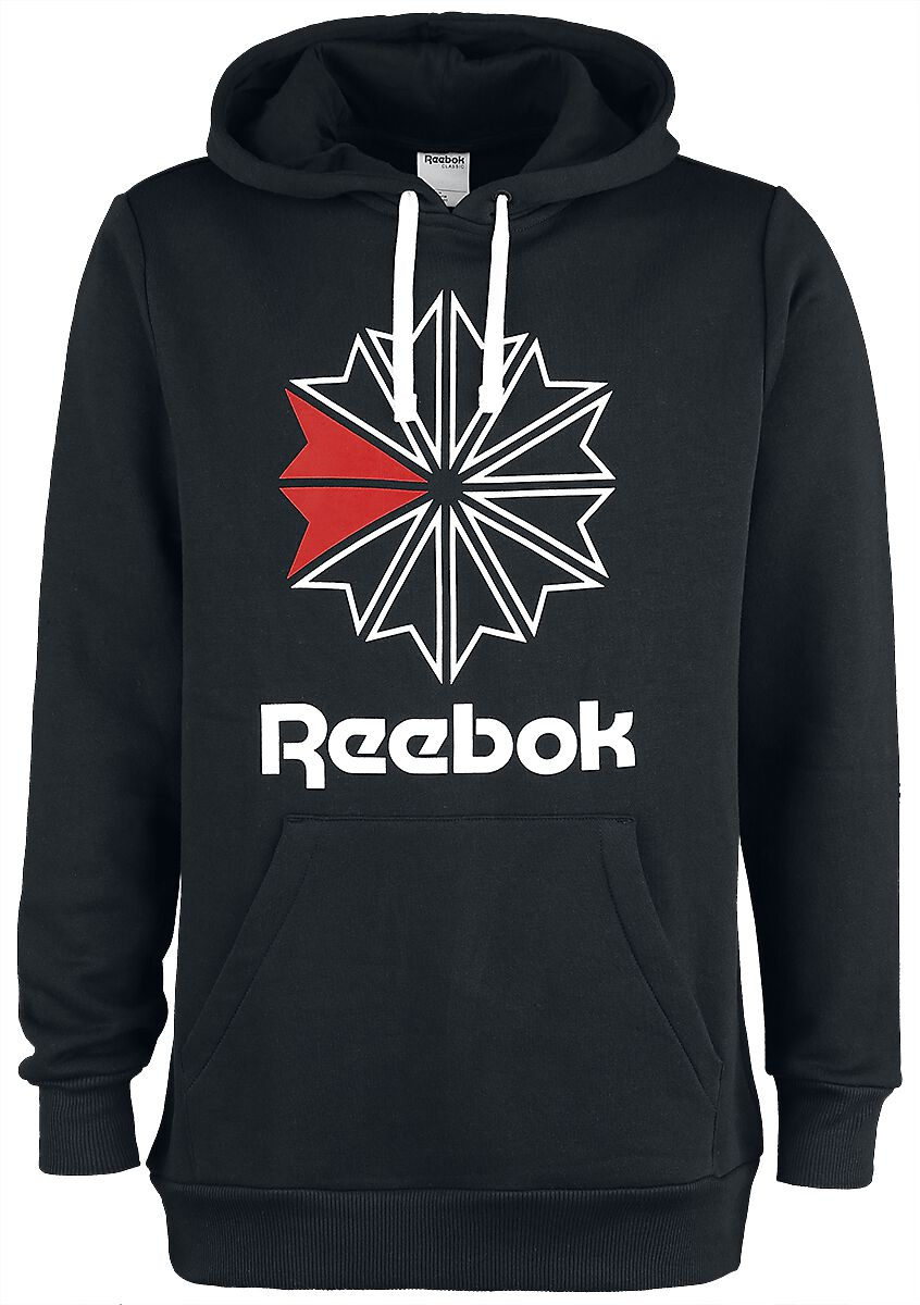 Image of   Reebok Foundation Starcrest Hoodie Hættetrøje sort