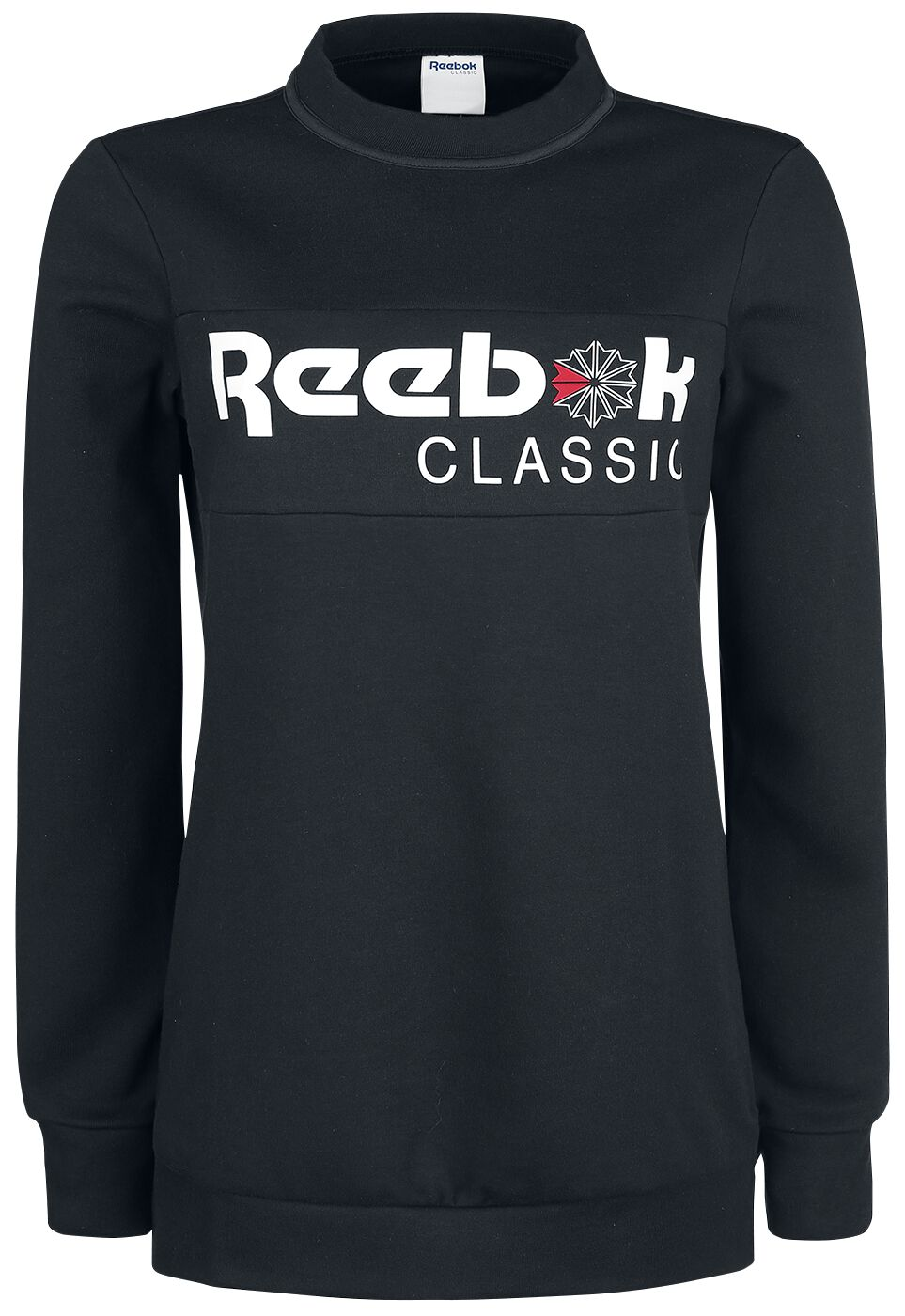 Image of   Reebok Iconic Fleece Crew Girlie sweatshirt sort