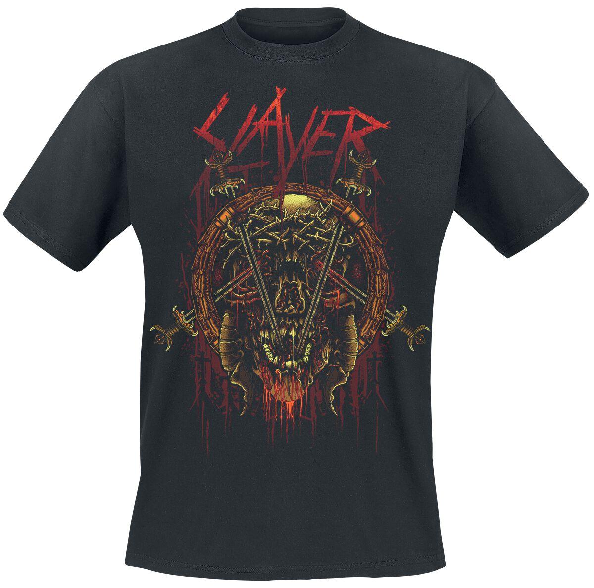 Image of   Slayer Rotting Skull T-Shirt sort