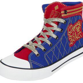 Suicide Squad Harley Quinn - Daddy's Lil' Monster Baskets rouge/bleu