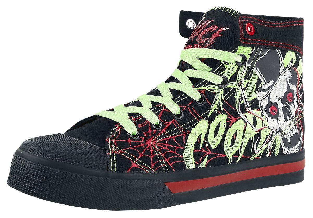 Zespoły - Buty - Buty sportowe Alice Cooper EMP Signature Collection Buty sportowe czarny - 366549