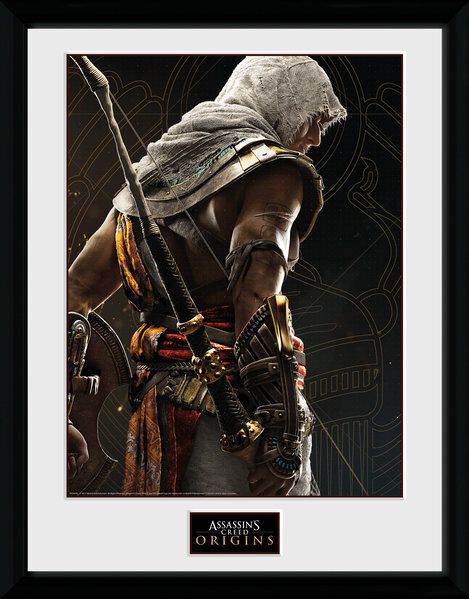 Image of   Assassin's Creed Origins - Synchronization Indrammet billede multifarvet