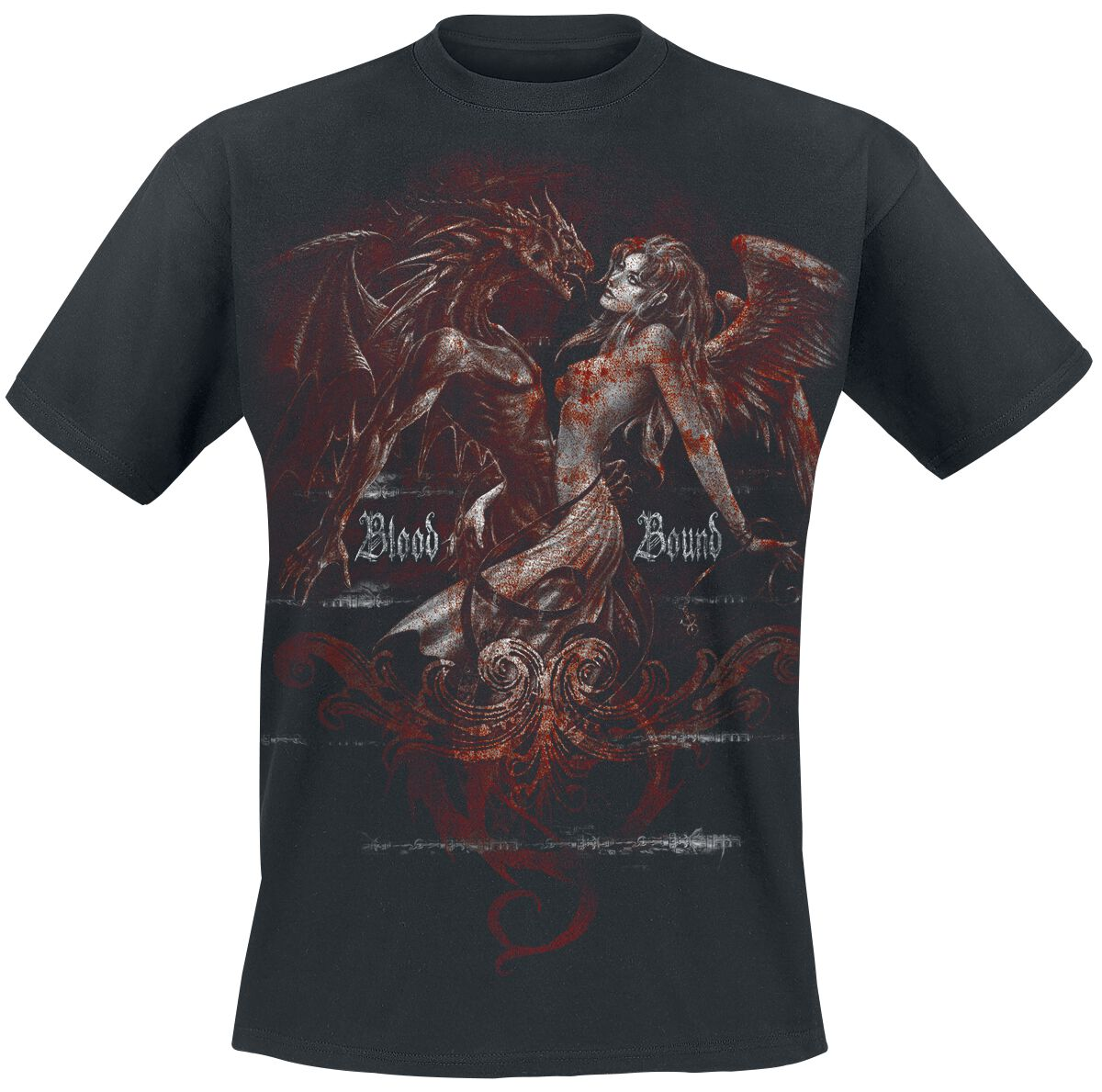 Image of   Alchemy England Classic - Blood Bound T-Shirt sort