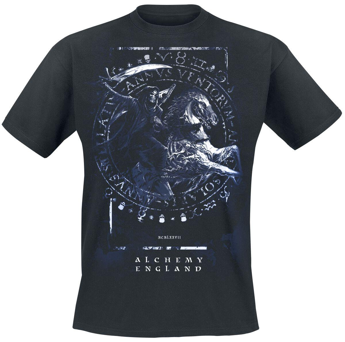 Image of   Alchemy England Classic - Apocalypse of Death T-Shirt sort