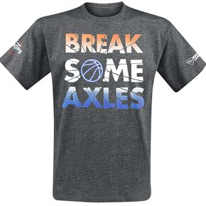 Rocket League Break Some Axles T-shirt gris sombre chiné