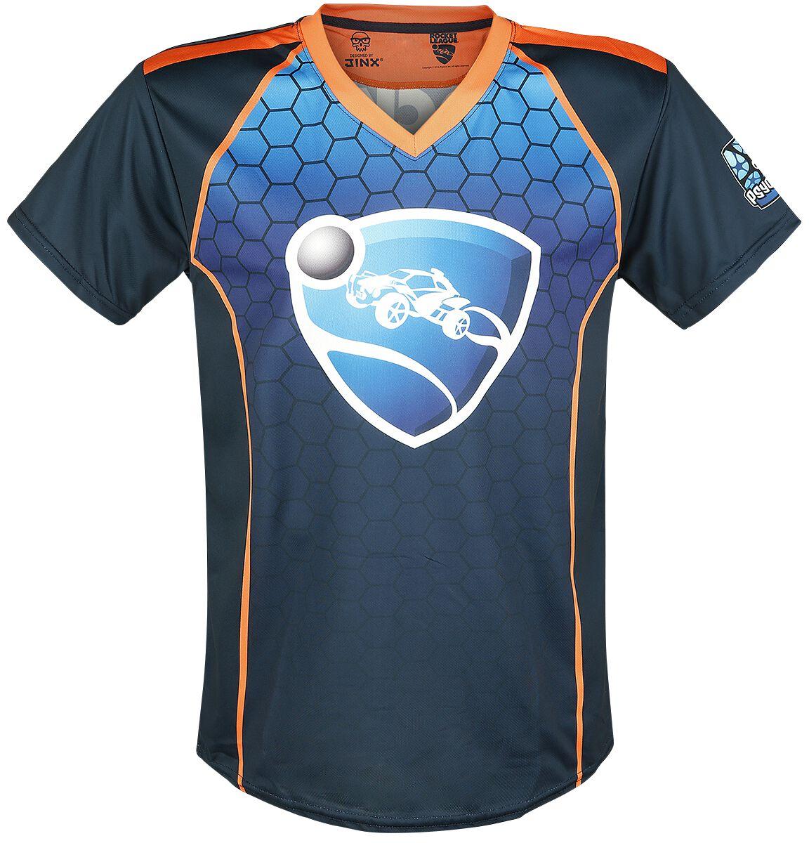 Rocket League Game On T-Shirt multicolour