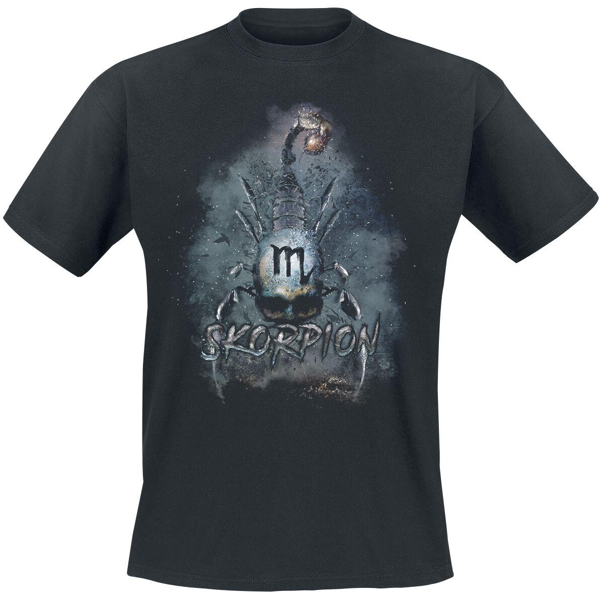 Motyw - Koszulki - T-Shirt Scorpio T-Shirt czarny - 366752