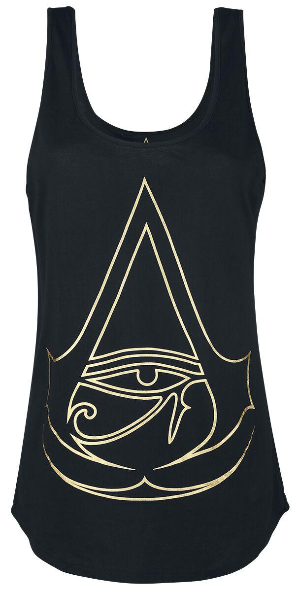 Image of   Assassin's Creed Origins - Logo Girlie top sort