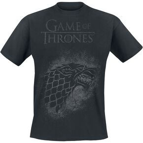 Game Of Thrones House Stark - Spray T-shirt noir