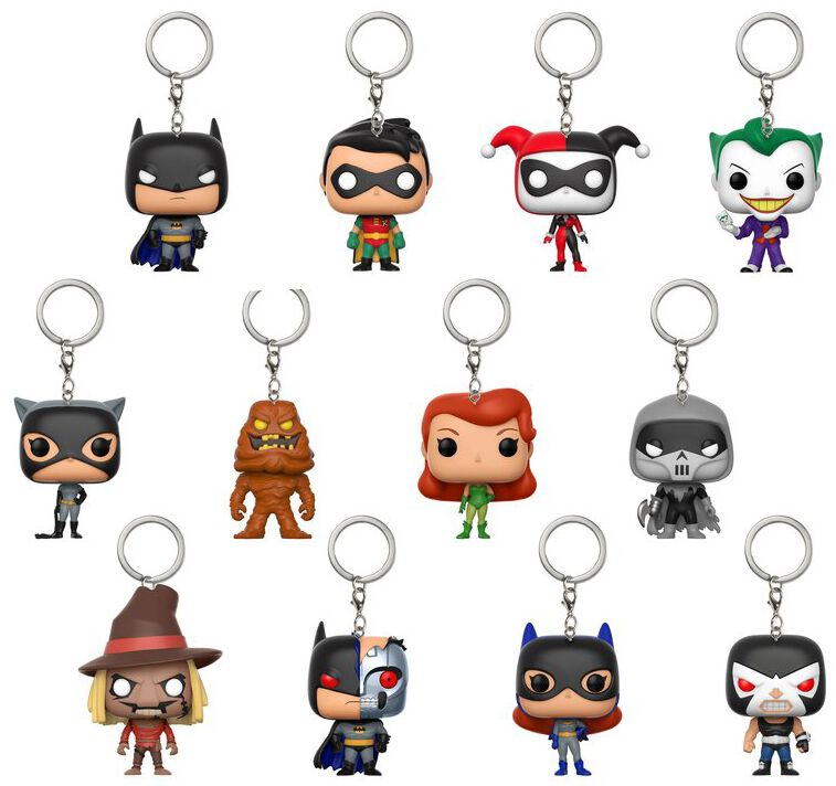 Image of   Batman Mystery Pockey Pop nøglering Nøglering Standard