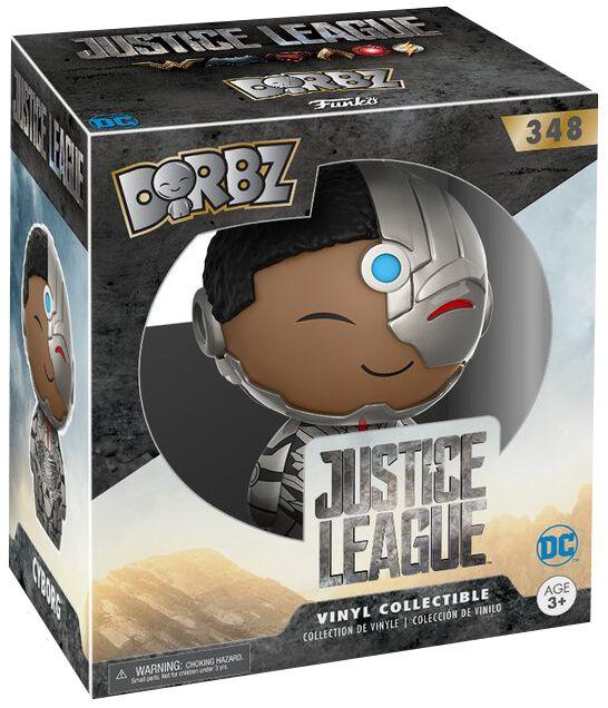 Image of   Justice League Cyborg Dorbz Vinyl Figure 348 Samlefigur Standard