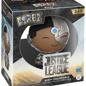 Figurine Dorbz Justice League Cyborg
