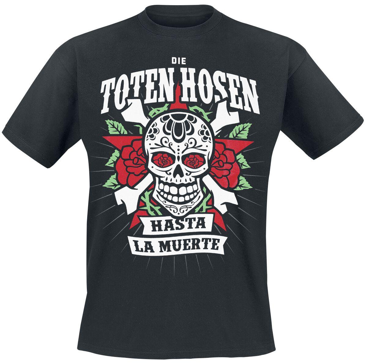 Die Toten Hosen Hasta La Muerte T-Shirt schwarz