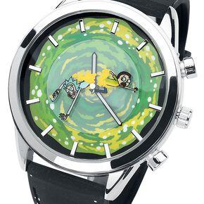 Rick & Morty Rick et Morty Montre bracelet noir/vert