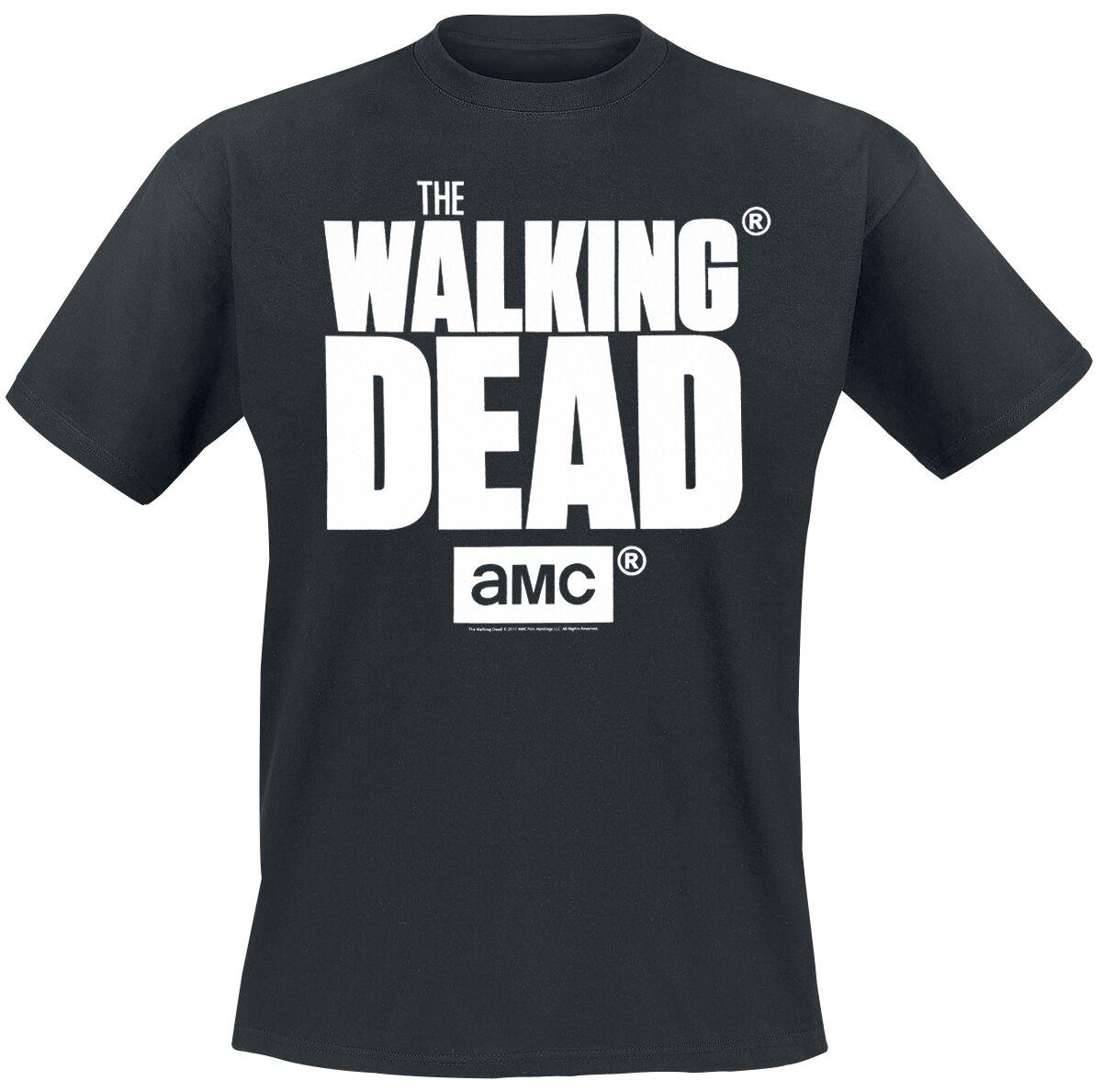 Image of   The Walking Dead Logo T-Shirt sort