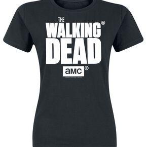 The Walking Dead Logo T-shirt Femme noir
